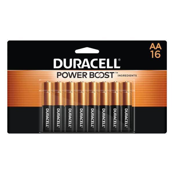 Duracell Coppertop Batteries, Alkaline, AA