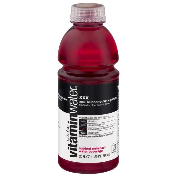 Vitaminwater Zero Water Beverage, Nutrient Enhanced, XXX