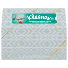 Kleenex Hand Towels, White, 1-Ply