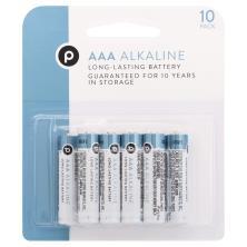 Publix Batteries, AAA, Alkaline