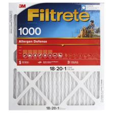 3m Filtrete Air Cleaning Filter, Micro Allergen Reduction 18x20x1