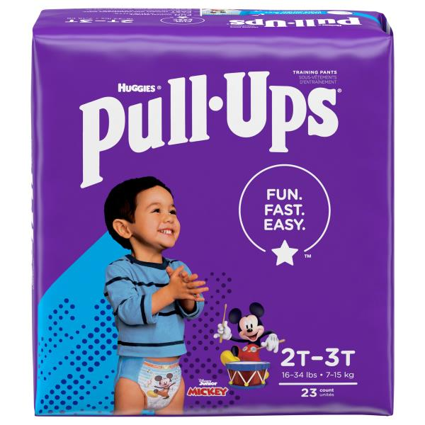 Pull Ups Learning Designs Training Pants, Training Pants, 2T-3T (18-34 lb), Disney Cars/Junior Mickey and the Roadster Racers