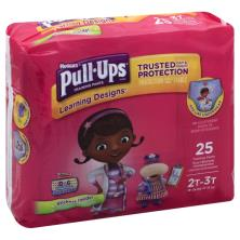 Pull Ups Learning Designs Training Pants, 2T-3T (18-34 lbs), Disney Junior Minnie/Doc McStuffins Toy Hospital