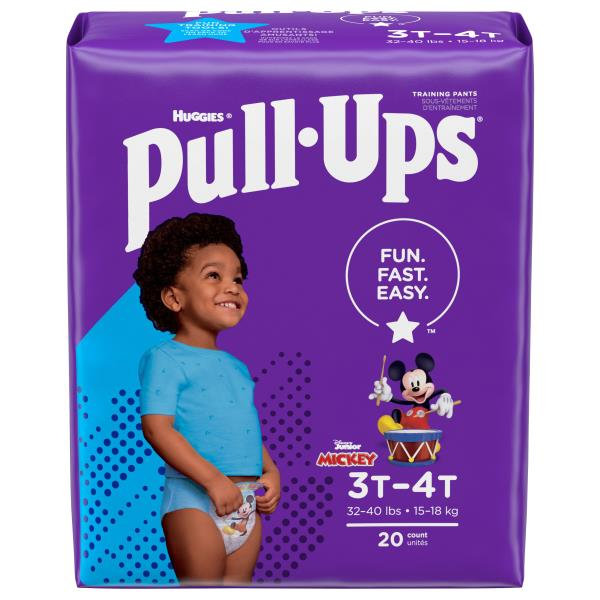 Pull Ups Learning Designs Training Pants, 3T-4T (32-40 lbs), Disney Junior Roadster Racer