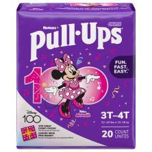 Pull Ups Learning Designs Training Pants, 3T-4T (32-40 lbs), Disney Junior Minnie/Doc McStuffins Toy Hospital