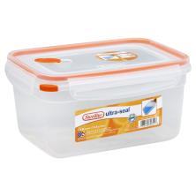 Sterilite Ultra-Seal Container, Tangerine, 12 Cups