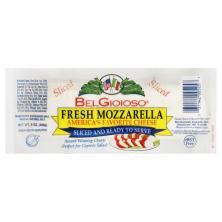 BelGioioso Cheese, Fresh Mozzarella, Sliced