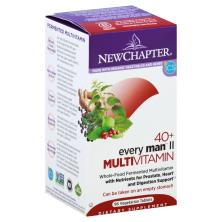 New Chapter Every Man Ii 40+, Multi Vitamin+Herbs+Minerals