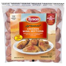 Tyson Chicken Wing Sections