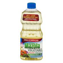 Mazola Vegetable Plus!