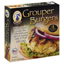 Southern Belle Grouper Burgers