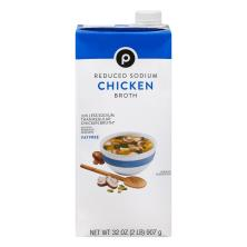 Publix Broth, Reduced Sodium, Chicken