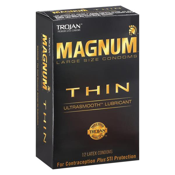 What size does trojan magnum fit