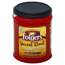 Folgers Coffee, Ground, Medium, Special Roast