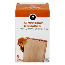 Publix Toaster Pastries, Frosted, Brown Sugar & Cinnamon