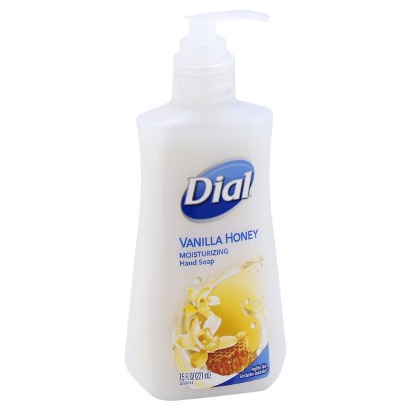 Dial Hand Soap, with Moisturizer, Vanilla Honey