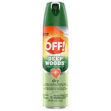 Off Deep Woods Insect Repellent VIII, Dry