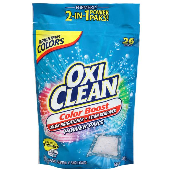 Oxi Clean Detergent Booster, Plus Color Safe Brightener