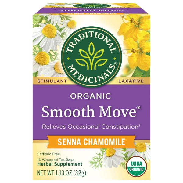 Traditional Medicinals Laxative Tea Senna Stimulant Smooth Move