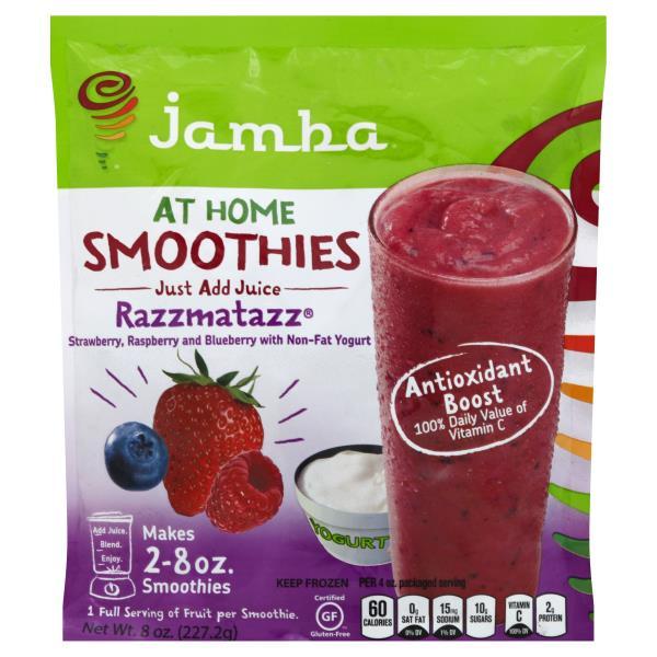 Jamba Juice At Home Smoothies, Razzmatazz