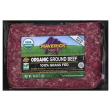 Maverick Ranch Beef, Ground, Organic, 85/15
