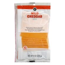Publix Mild Cheddar, Cheese Slices