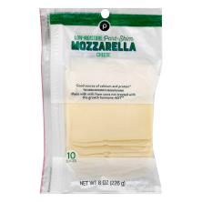 Publix Mozzarella, Cheese Slices