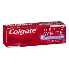 Colgate Optic White Toothpaste, Anticavity Fluoride, Sparkling White, Sparkling Mint