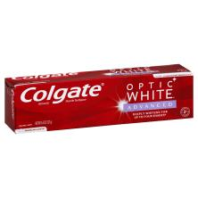 Colgate Optic White Toothpaste, Anticavity Fluoride, Sparkling White, Sparkling Mint