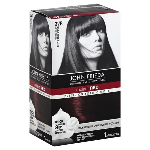Precision Foam Colour Permanent Radiant Red Deep Cherry Brown 3vr