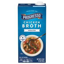 Progresso Chicken Broth, Unsalted