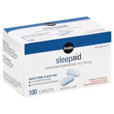 Publix Sleep Aid, 25 mg, Caplets