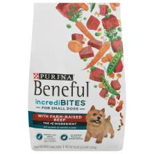 Beneful IncrediBites Food for Dogs, with Real Beef, Adult Small Dogs