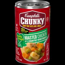 Campbells Chunky Healthy Request Soup, Roasted Chicken with Country Vegetables