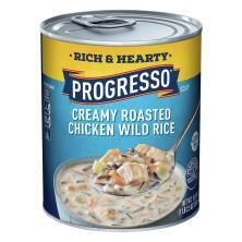 Progresso Rich & Hearty Soup, Creamy Roasted Chicken Wild Rice