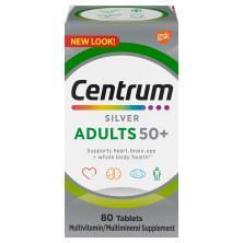 Centrum Silver Multivitamin/Multimineral, Adults 50+, Tablets
