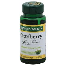 Natures Bounty Cranberry, with Vitamin C, Rapid Release Softgels