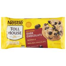 Toll House Dark Chocolate Morsels, 53% Cacao