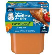 Gerber 2nd Foods Chicken Rice Dinner