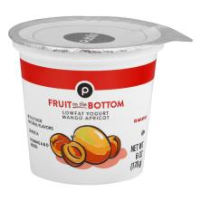 Publix Yogurt, Lowfat, Fruit on the Bottom, Mango Apricot