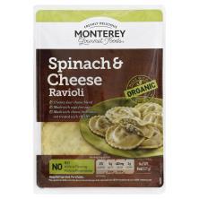 Monterey Gourmet Foods Ravioli, Spinach & Cheese
