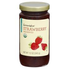 GreenWise Preserves, Organic, Strawberry
