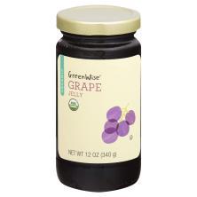 GreenWise Jelly, Organic, Grape