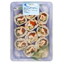 Advanced Fresh Concepts Salmon Roll, Spicy SP, Brown Rice