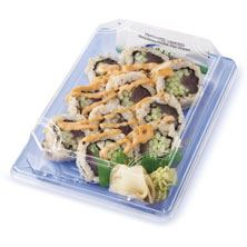 Sushi Spicy Tuna Roll, Special, Brown Rice, Ready to Eat
