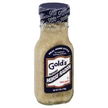 Golds Horse Radish, Prepared
