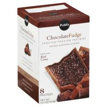 Publix Toaster Pastries, Frosted, Chocolate Fudge