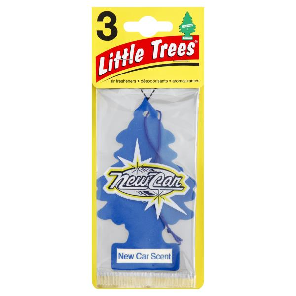Little Trees Air Fresheners, New Car Scent