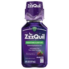 Vicks ZzzQuil Nighttime Sleep-Aid, Warming Berry