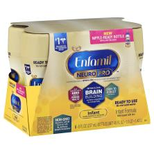 Enfamil Infant Formula,  with Iron, Milk-Based, Ready to Use, 1 (Through 12 Months)